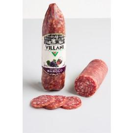 Salame al barolo Villani 200gr